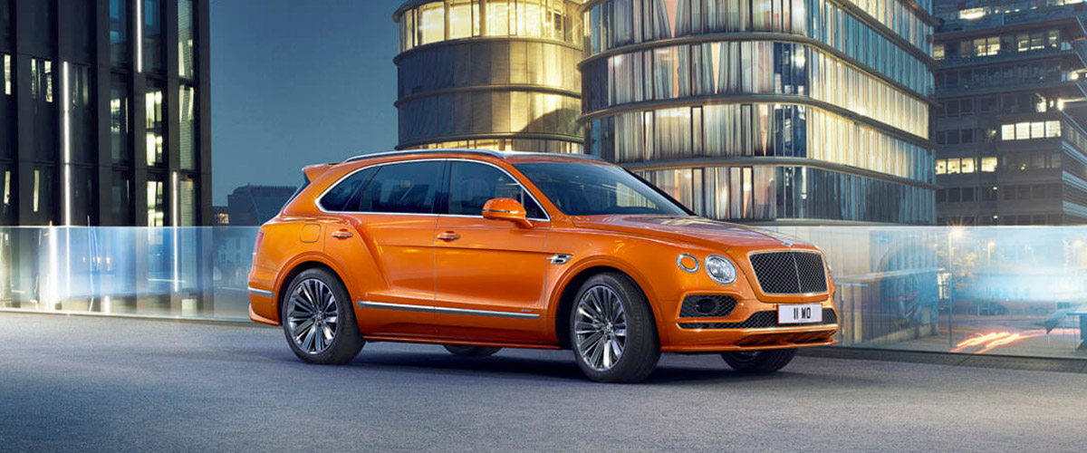 NEW BENTAYGA SPEED Header