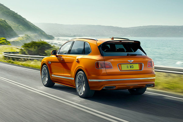 New NEW BENTAYGA SPEED Speed Specs & Performance