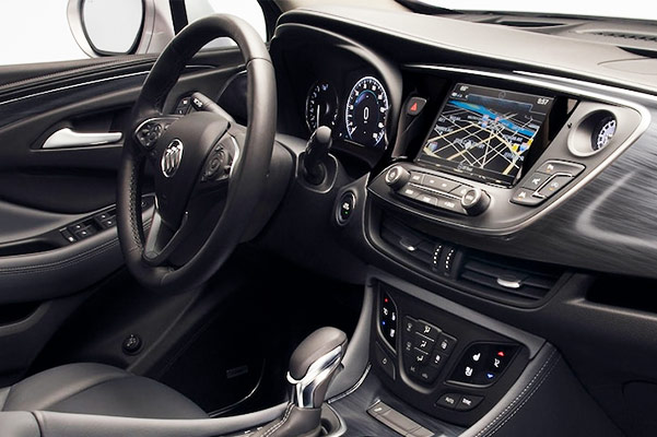 2019 Buick Envision Interior & Technology