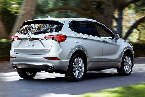 2019 Buick Envision Engine Specs & Performance