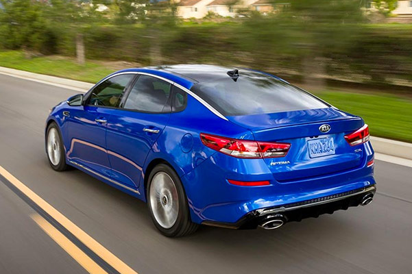 2019 Kia Optima MPG, Specs and Safety
