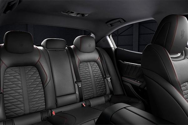 2019 Maserati Levante GranLusso Back Seat Interior