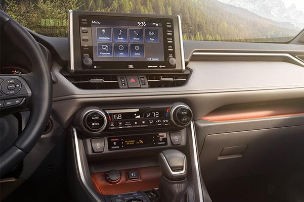 The 2019 RAV4 Interior