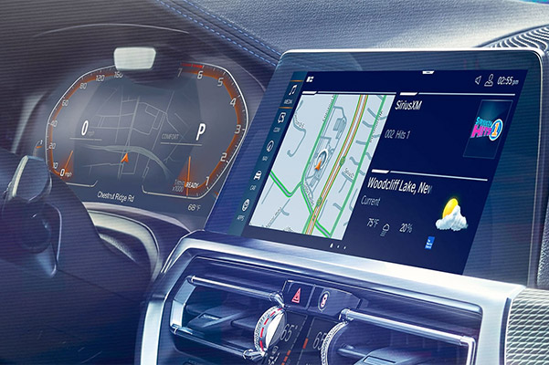 2020 BMW 3 Series: navigation display