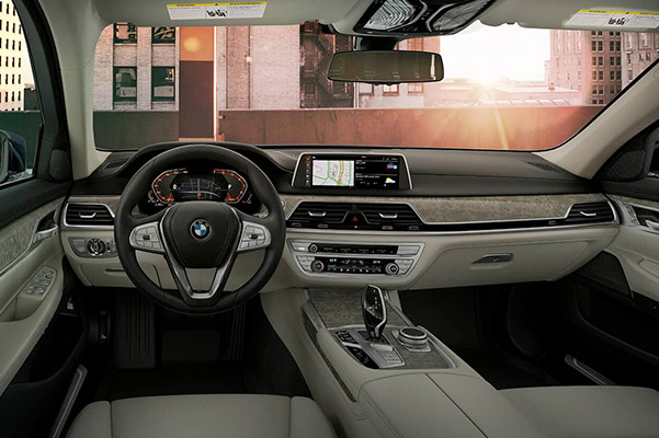 2020 BMW 7 Series Interior & Safety Features