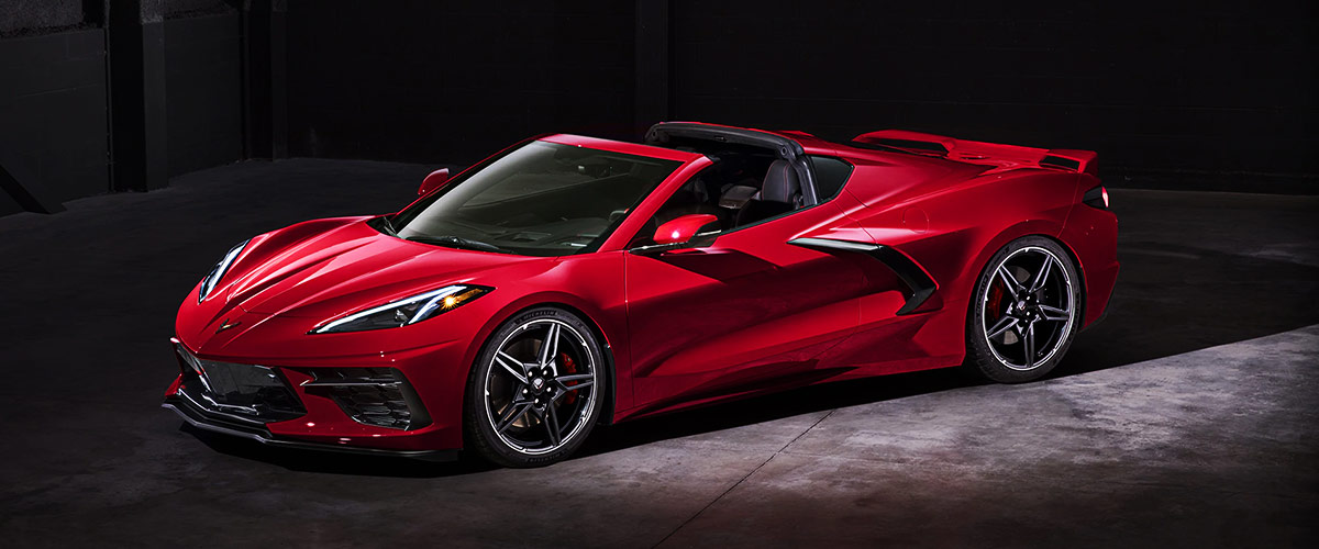 2020 Chevrolet Corvette header