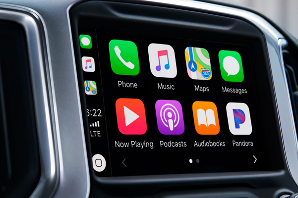 2020 Silverado 1500 Pickup Truck Apple Carplay