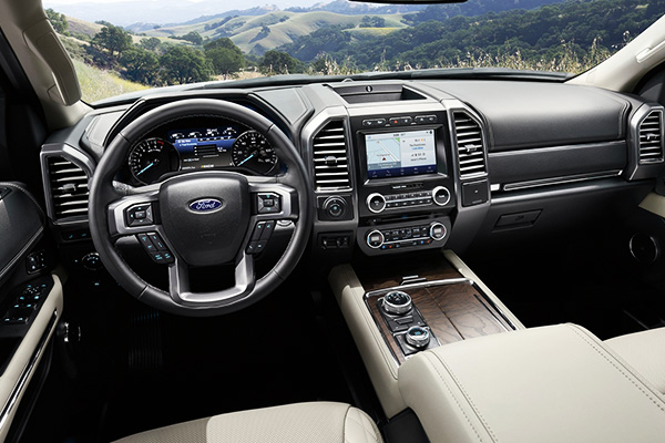 2020 Ford Expedition Interior Features & Technology