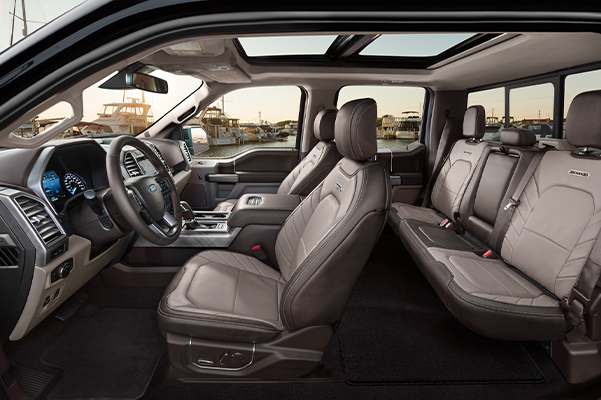 2020 Ford F-150 Limited interior
