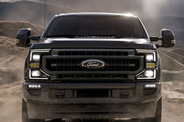 2020 Ford Super Duty front grill