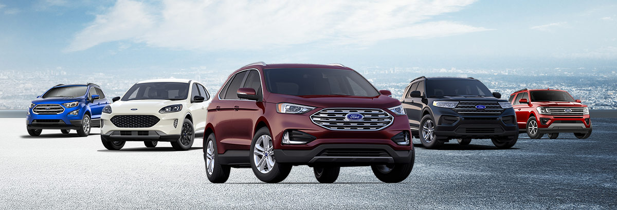 Discover Your 2020 Ford SUV Header