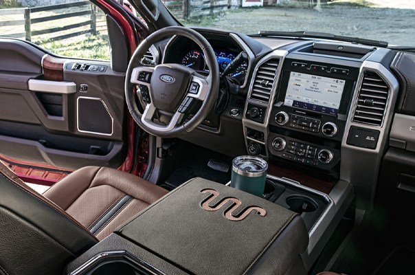2020 Ford Super Duty® Interior & Safety Features