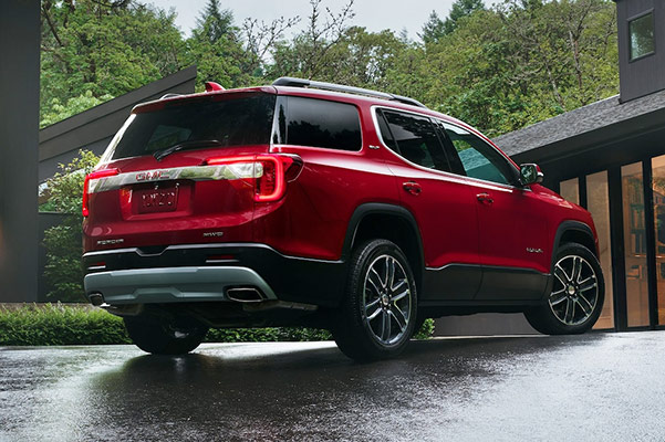 2020 GMC Acadia Specs & Safety
