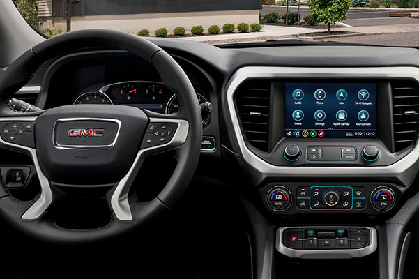 2020 GMC Acadia Interior & Technology
