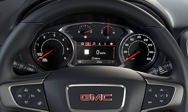 2020 GMC Terrain Interior Features & Technologies