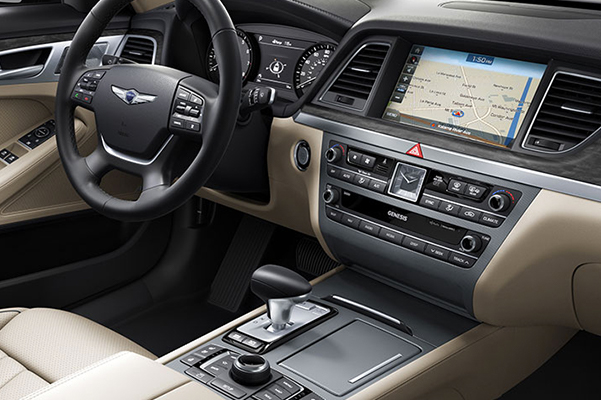 2020 Genesis G80 Interior & Technology Features