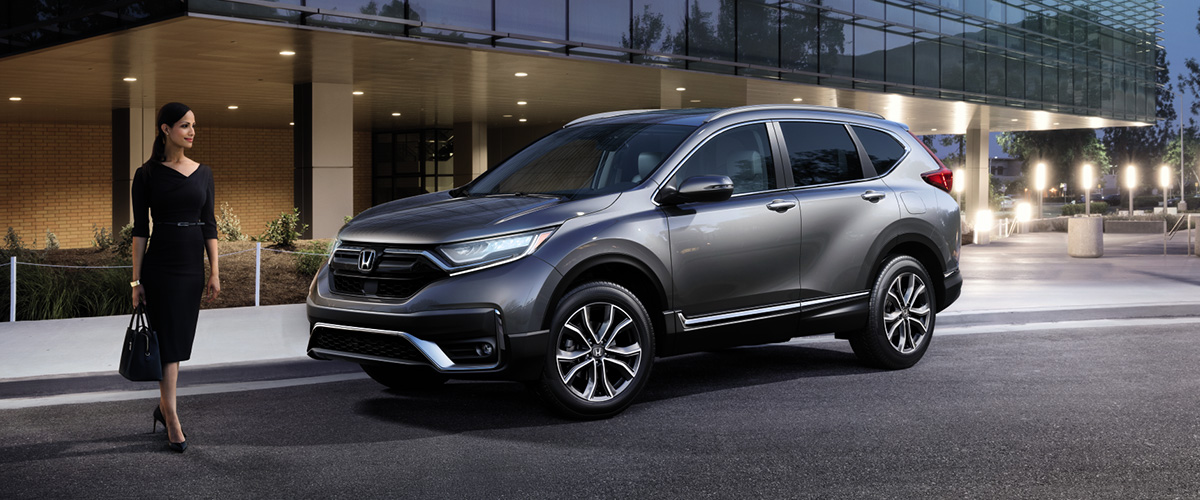 2020 Honda CR-V header