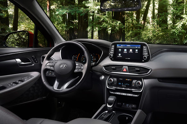 2020 Hyundai Santa Fe Interior Features & Technology