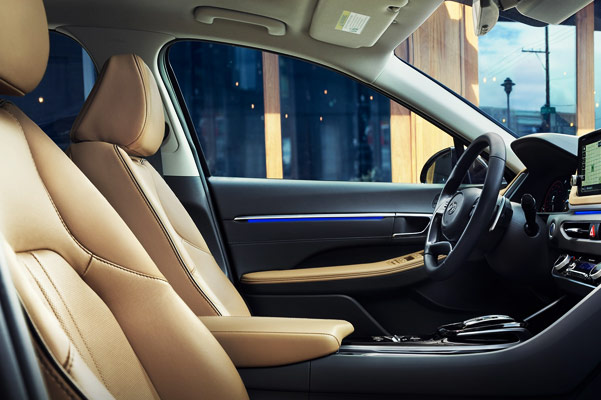 2020 Hyundai Sonata Interior & Technology