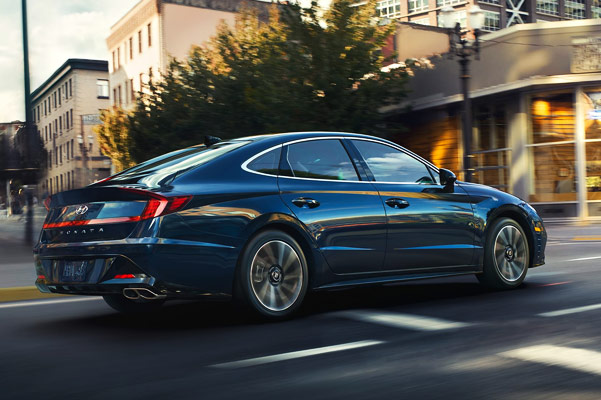 2020 Hyundai Sonata Specs & Safety