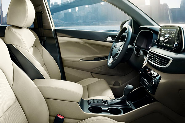 2020 Hyundai Tucson Interior & Technology