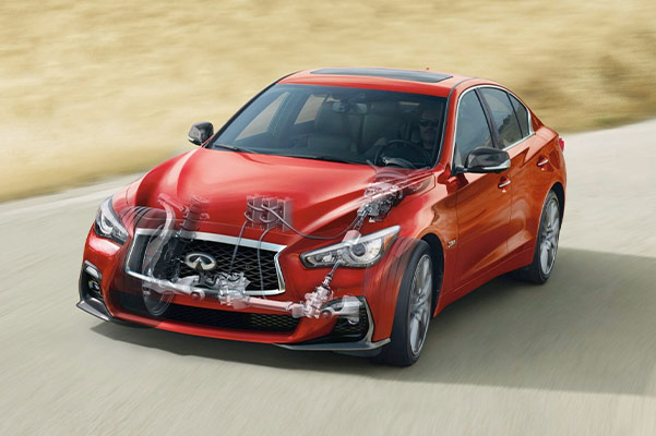 2020 INFINITI Q50 Engine Specs & Safety Features