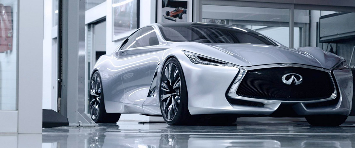 The INFINITI Q80 Inspiration header