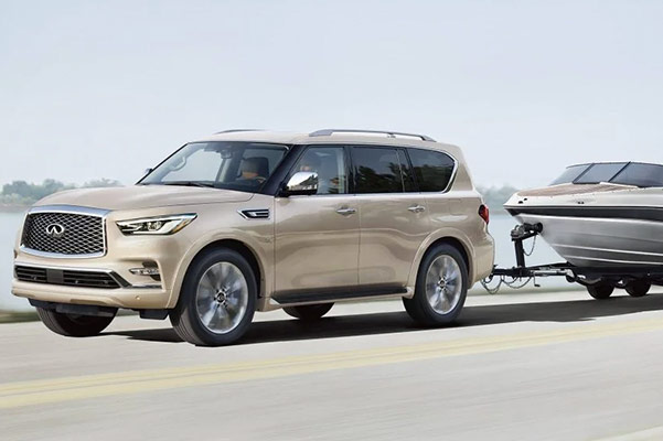 2020 INFINITI QX80 Specs, MPG Ratings & Safety