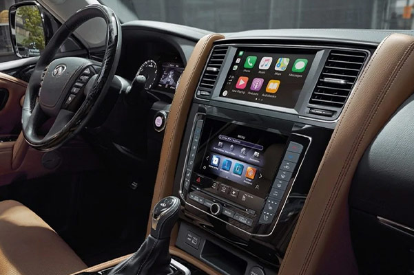 The 2020 INFINITI QX80 Interior & Technology