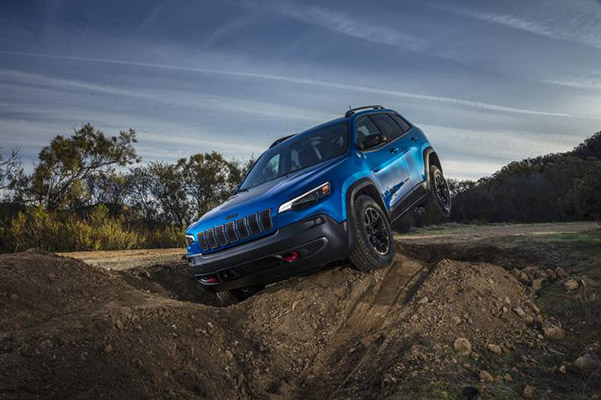 2020 Jeep Cherokee Interior Features & Technology
