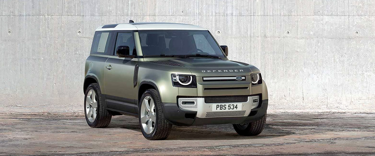 2020 Land Rover Defender Header