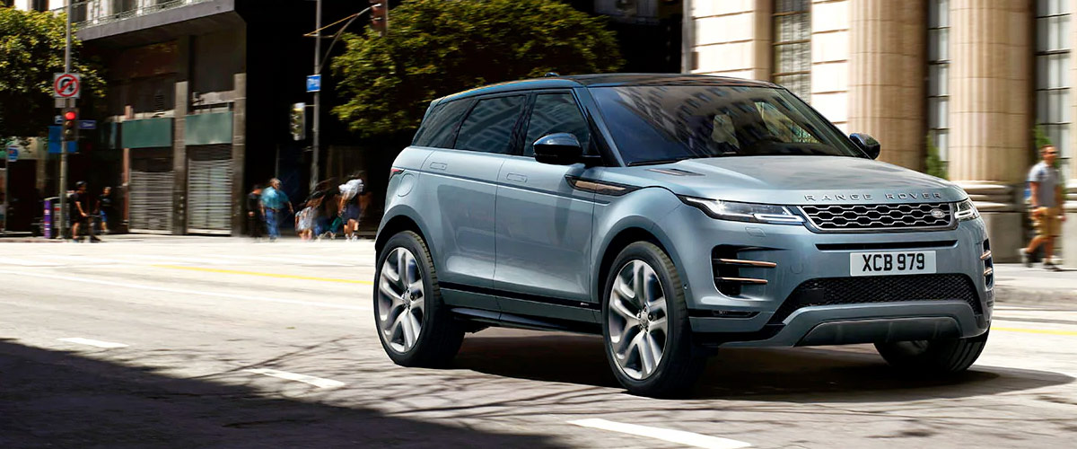 2020 RANGE ROVER EVOQUE Header