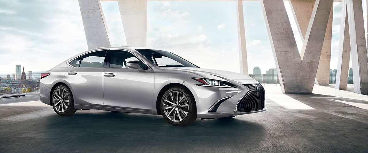 New 2020 Lexus ES header