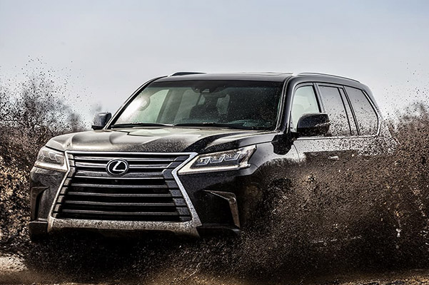 Lexus LX shown in Black Onyx.