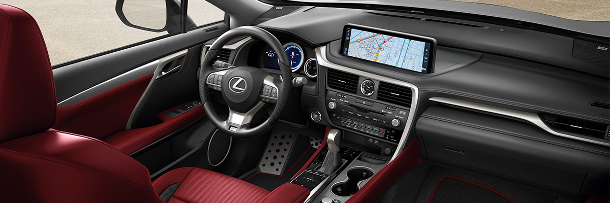 2020 Lexus RX Interior & Technology