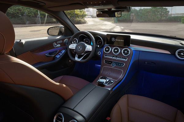 2020 Mercedes-Benz C-Class Interior & Technology