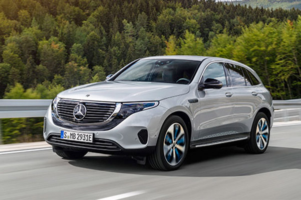 2020 Mercedes-Benz EQC Specs & Performance Features
