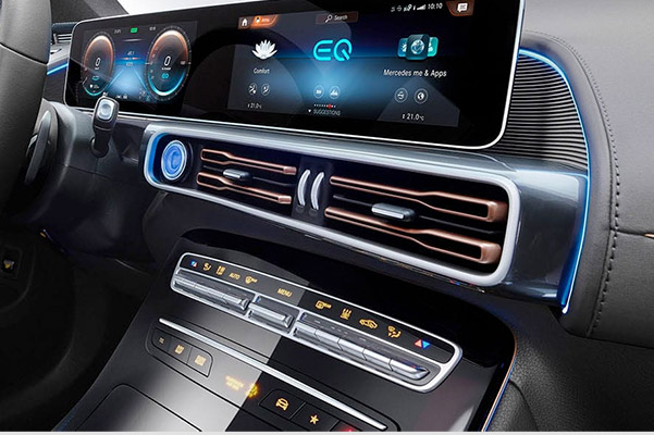 2020 Mercedes-Benz EQC Interior & Safety Technologies