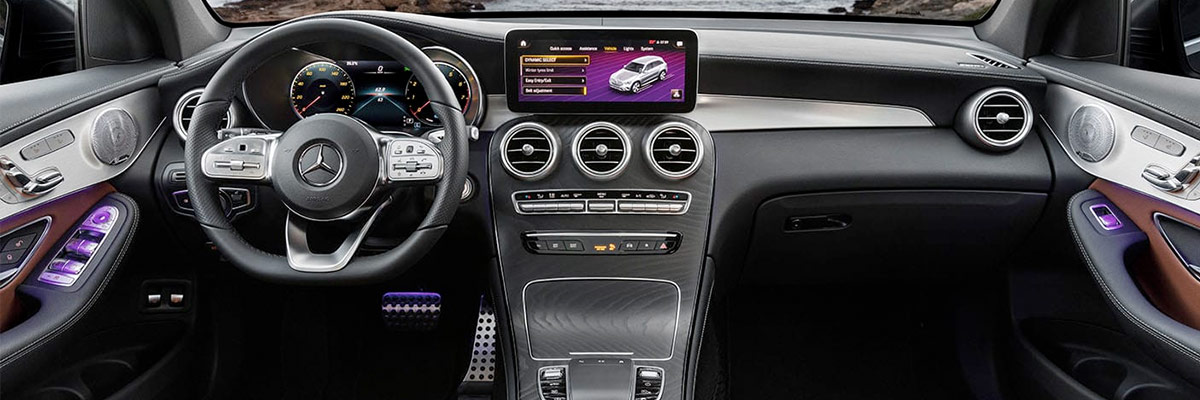 2020 Mercedes-Benz GLC Interior & Technology Features