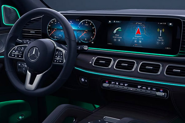 2020 Mercedes-Benz GLE Interior & Technology