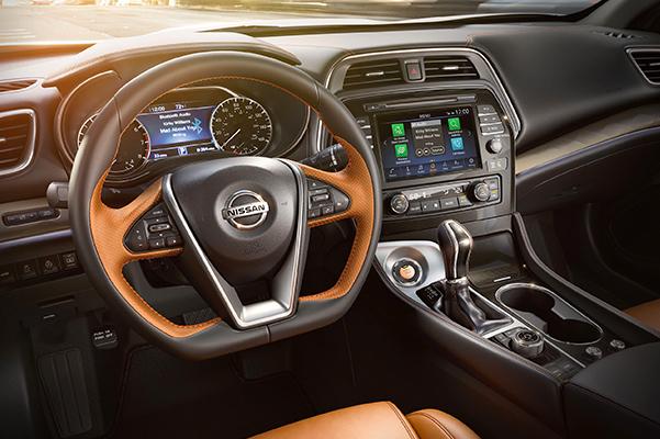 2020 Nissan Maxima Interior & Technologies