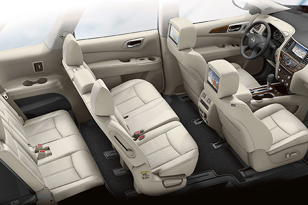 2020 Nissan Pathfinder Interior & Technology