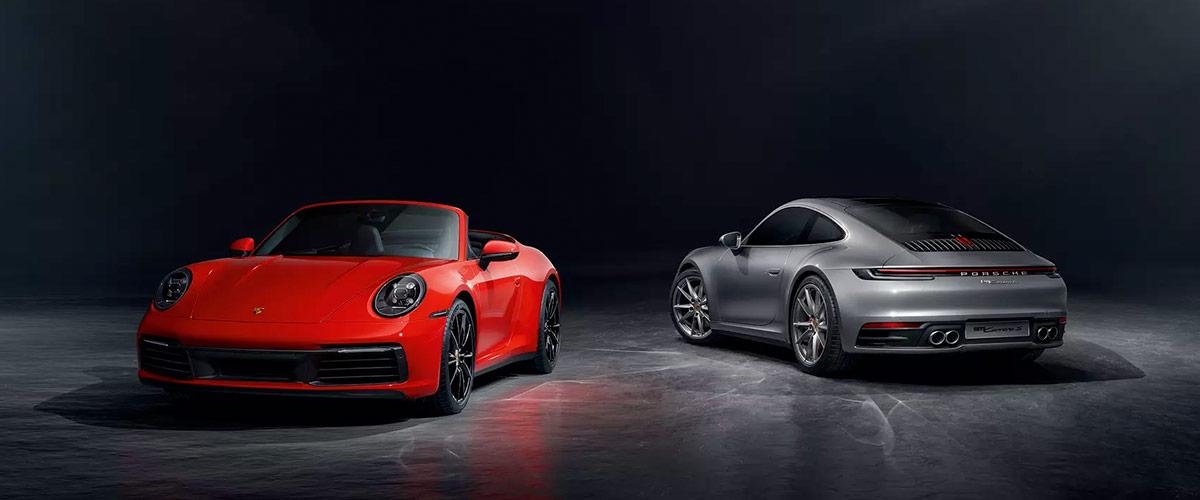2020 Porsche 911 header