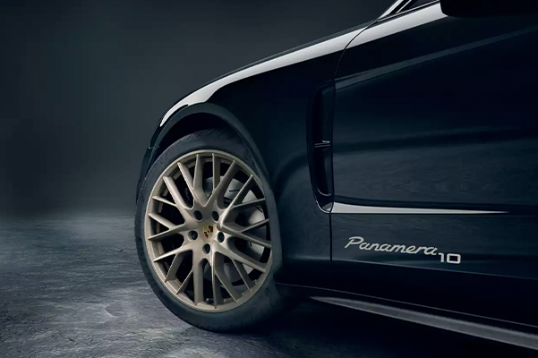 Tire shot of 2020 Porsche Panamera