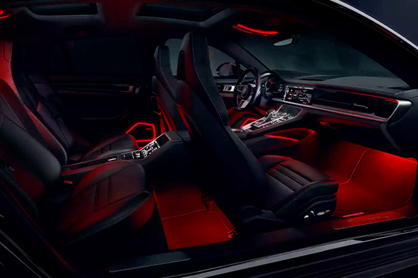 Porsche Panamera Interior Seating