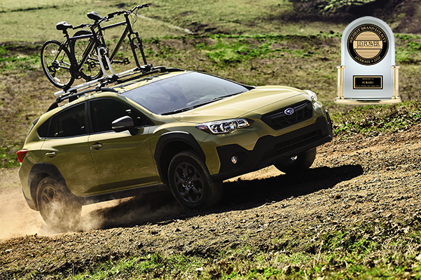 Crosstrek with JD Power Award
