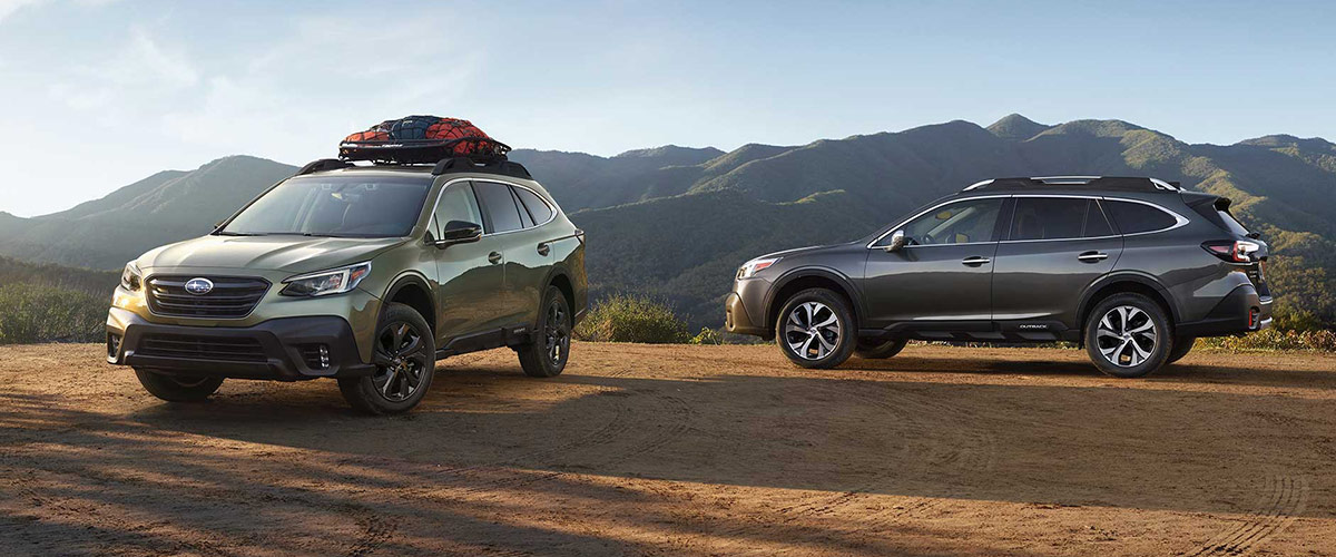 Introducing the All-New 2020 Subaru Outback Header