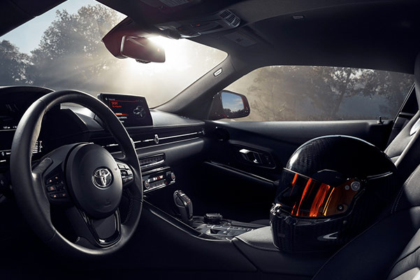 2020 Toyota Supra Interior & Safety