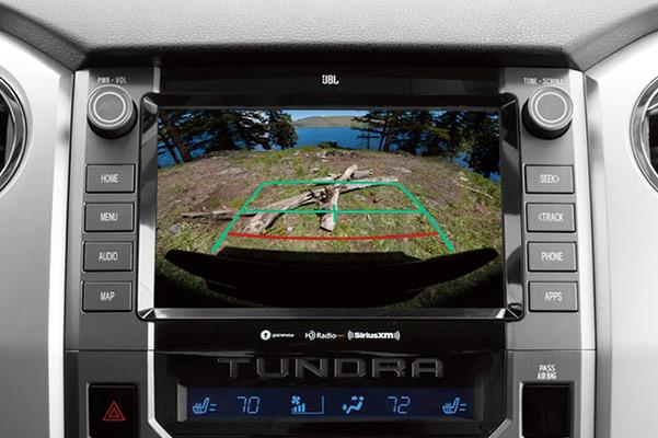 2020 Toyota Tundra Interior showcasing rear view camera