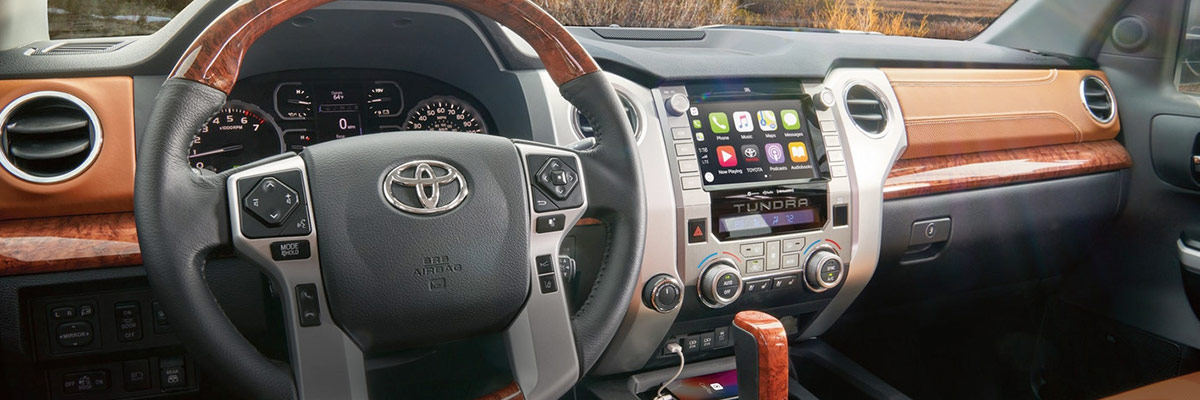2020 Toyota Tundra Interior, Design & Technology